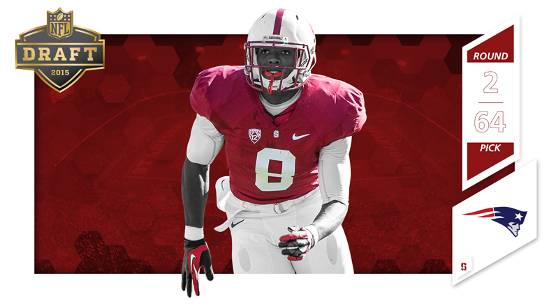 new style 9221f 80fc3 New England Takes Richards - Stanford University Athletics