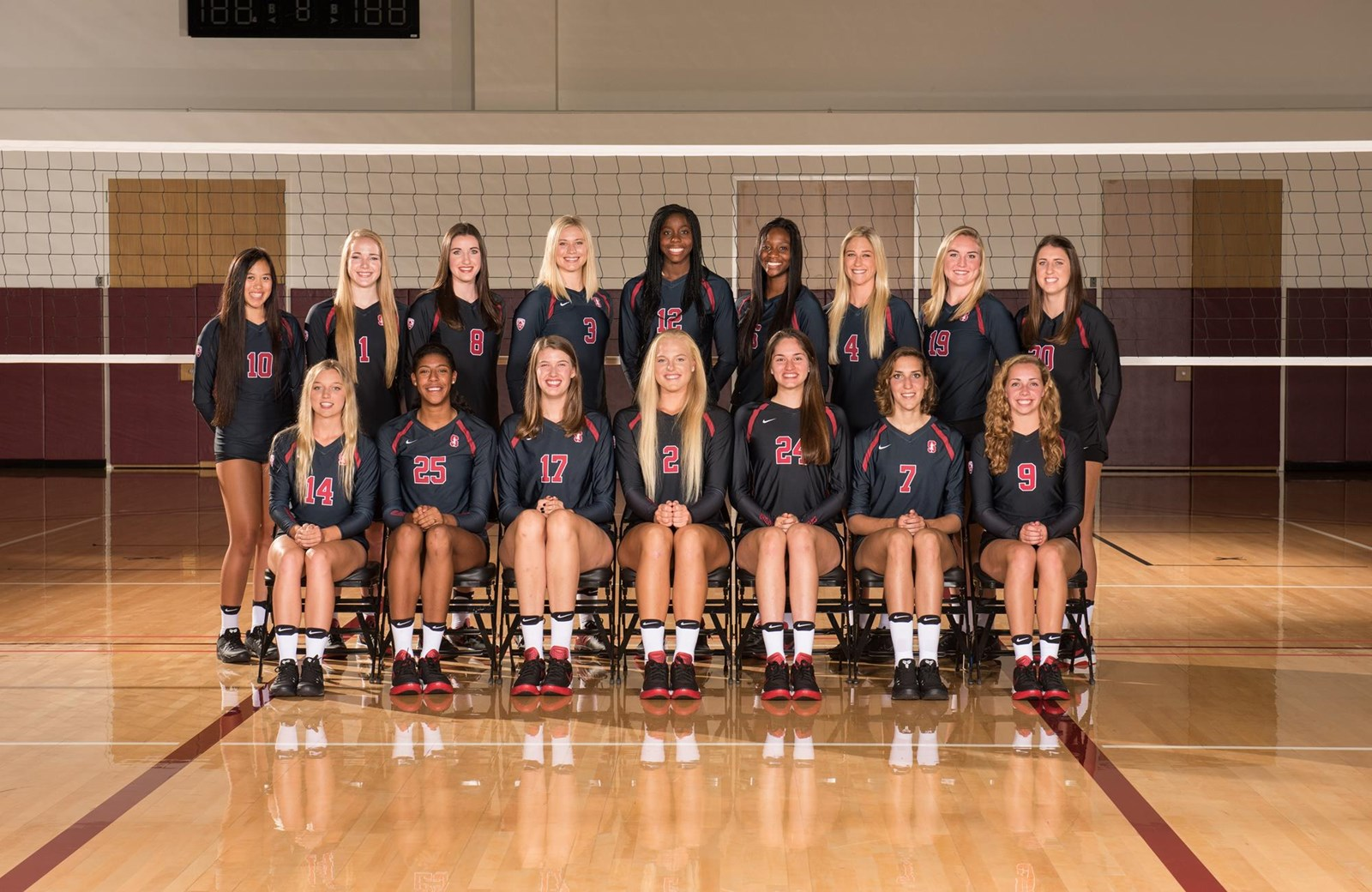 2016 Women S Volleyball Roster Stanford University Athletics